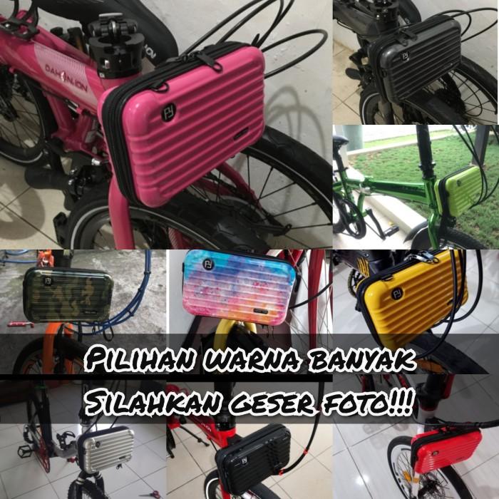 Foto Produk Tas Sepeda Lipat Front Block seli dari Rumahan Shop Online