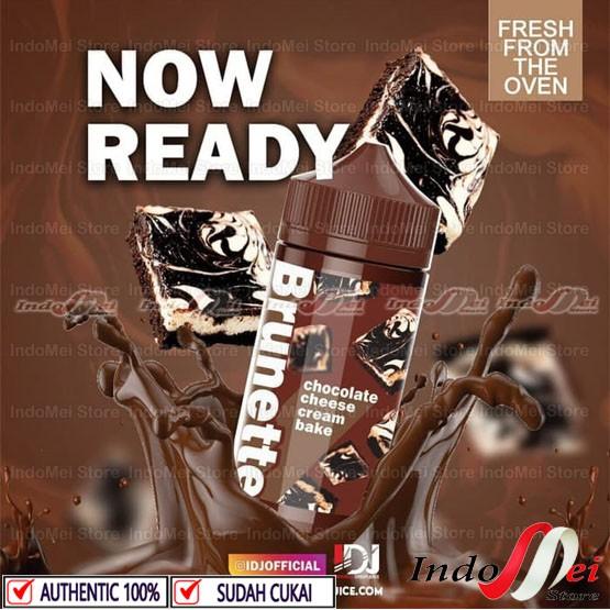 Foto Produk BRUNETTE CHOCOLATE CHEESE CREAM BAKE 100ML AUTHENTIC LIQUID PREMIUM - TIDAK PILIH NIC dari Indomei Store