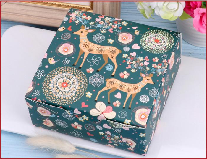 Foto Produk box rusa biru 12cm , kotak hadiah natal , kotak tema natal , box gift dari KAYO