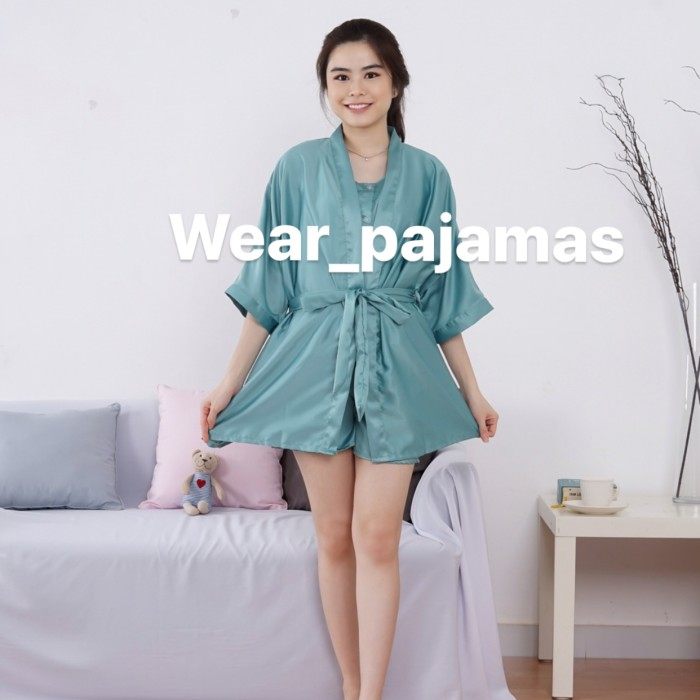 Foto Produk PIYAMA KIMONO 3in1 TERMURAH LIMITED COLOUR dari Wear Pajamas