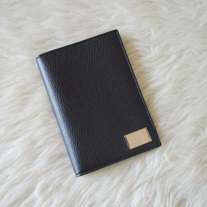 Foto Produk Gucci Paspor Case Card Holder Leather Black. Gucci Original dari Laristie