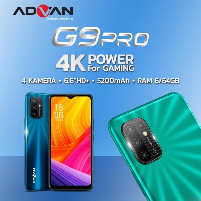 """Foto Produk Advan G9Pro 6.6"""" 6GB 64GB QuadCam Octacore Android10 Garansi Resmi dari Advan Official Store"""
