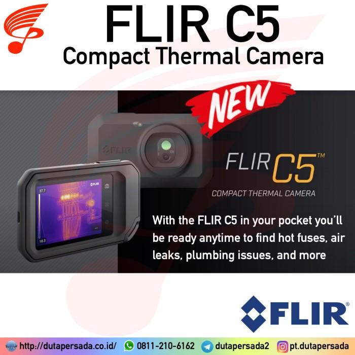 Foto Produk Flir C5 Wi-Fi Compact Thermal Imaging Camera replace C2 C3 dari DUTA PERSADA Instruments