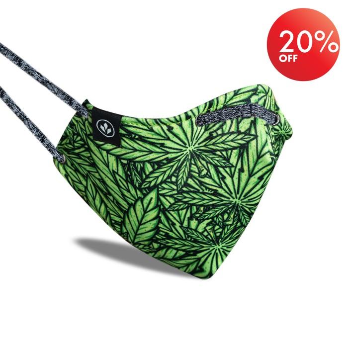 Foto Produk StayCool - [Pre-Order] Masker Non Medis Green Peace dari StayCool Official