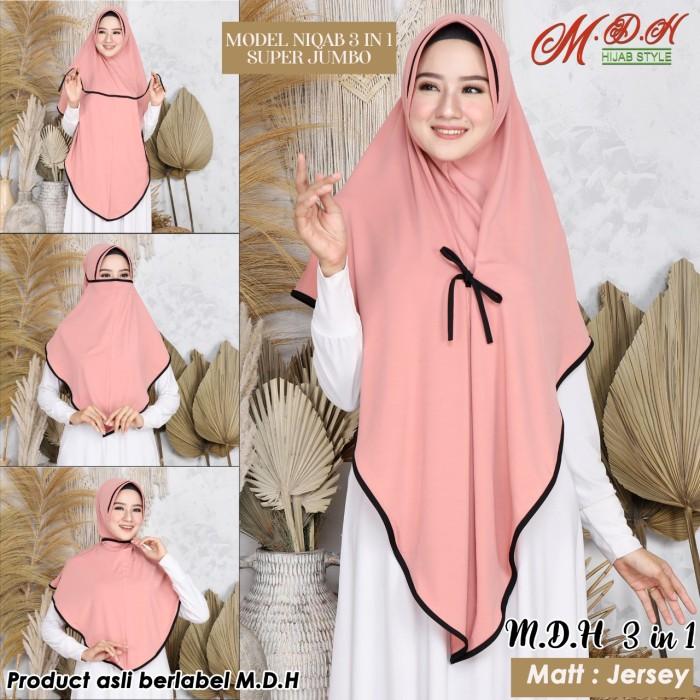 Jual Jilbab Hijab Niqab Instan Dusty Pink Jakarta Timur Mdh Hijab Style Tokopedia
