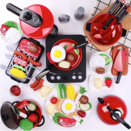 Foto Produk Home Kitchen Playset H336A Mainan Masak Masakan KItchen Set dari ANEKA MAINAN ONLINE