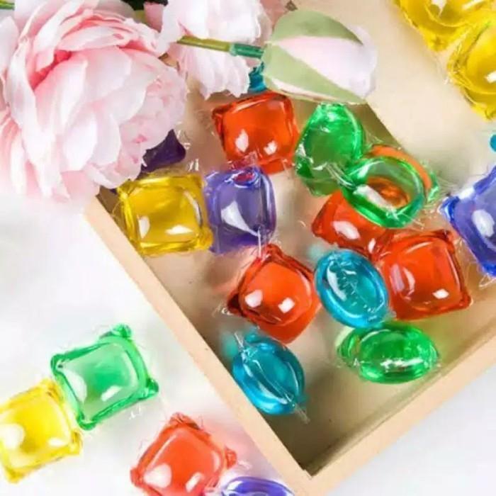 Foto Produk Sabun Laundry Jelly Beads Ball Deterjen Cuci Baju Liquid Anti septik dari grosirltc