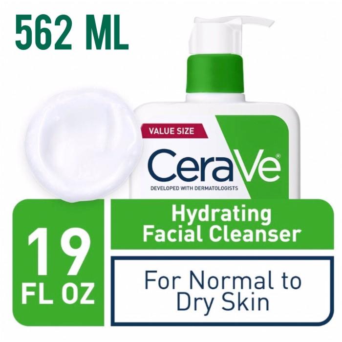 Foto Produk Cerave Hydrating Facial Cleanser Normal to dry skin 562ml 562 ml 19oz dari Winnie's Stores
