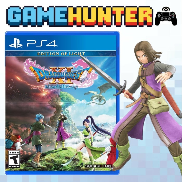 Jual Ps4 Dragon Quest Xi Echoes Of An Elusive Age Dq11 Dragon Quest 11 Jakarta Utara Gamehunter Tokopedia