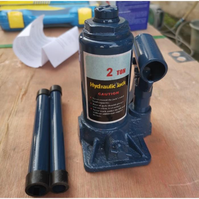 Foto Produk Dongkrak Mobil 2 Ton Dongkrak Botol MSK HEAVY DUTY dari JABAR TEKNIK