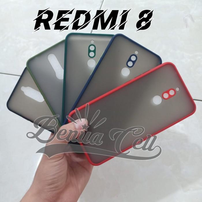 Foto Produk SOFTCASE REDMI 8 - CASE MATTE FULL COLOUR XIAOMI REDMI 8 BIASA - Hijau Tua dari BenuaCell