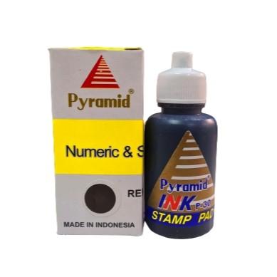 Foto Produk Tinta Pyramid Numeric & Self Ink 30cc- Hitam | Tinta Stempel Flash dari officemart