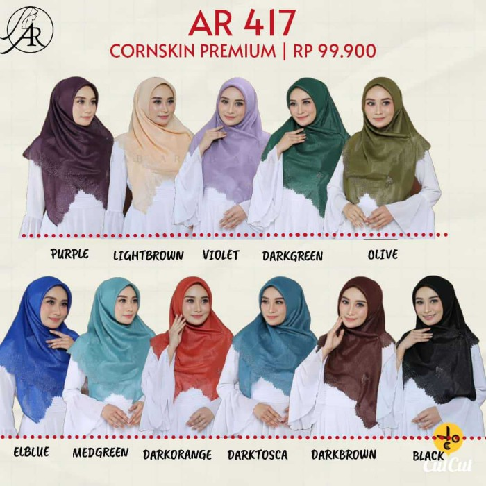 Jual Segi Empat Terbaru Ar Rafi Kode Ar 417 Segi Empat Swarozky Cutting Kab Kudus Nurha Hijab Kudus Tokopedia