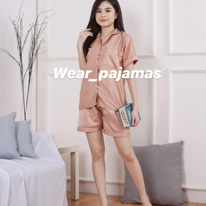 Foto Produk PIYAMA HOTPANTS TERMURAH LIMITED COLOUR dari Wear Pajamas