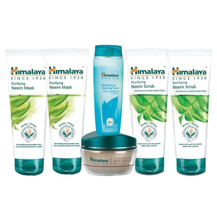 Jual Himalaya Double Neem Mask Neem Scrub Free Day Cream Toner Jakarta Barat Glamizka Tokopedia