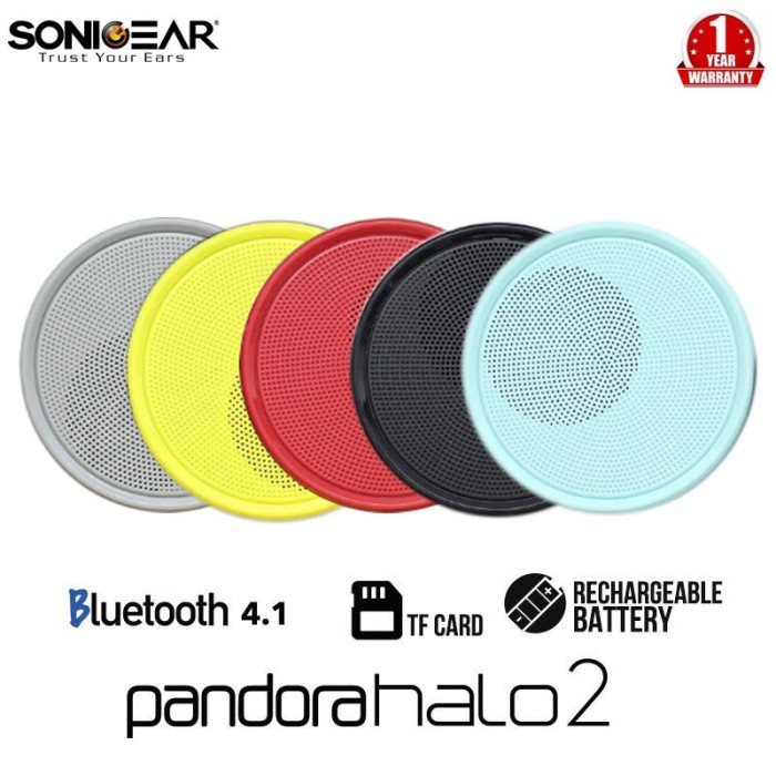 Foto Produk Speaker SonicGear Pandora Hallo2 Sonic Gear Hallo 2 Bluetooth dari PojokITcom Pusat IT Comp