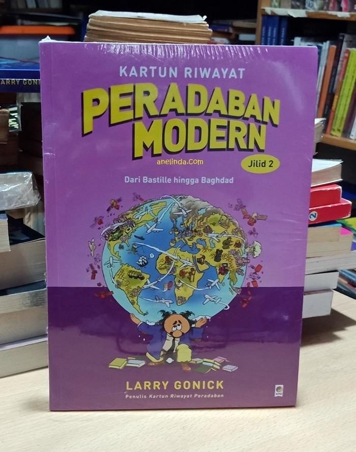 Foto Produk KARTUN RIWAYAT PERADABAN MODERN - JILID 2 (LARRY GONICK) dari Anelinda Buku Klasik