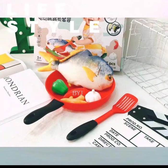 Foto Produk mainan anak pretend set ikan dan udang loncat - udang dari AUTO KID II