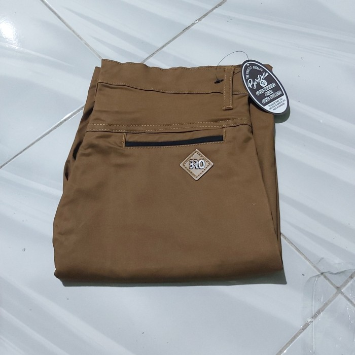 Foto Produk Chino Dc coklat Tua | Celana Pendek Pria - Cokelat, 28 dari Bari0elin shop