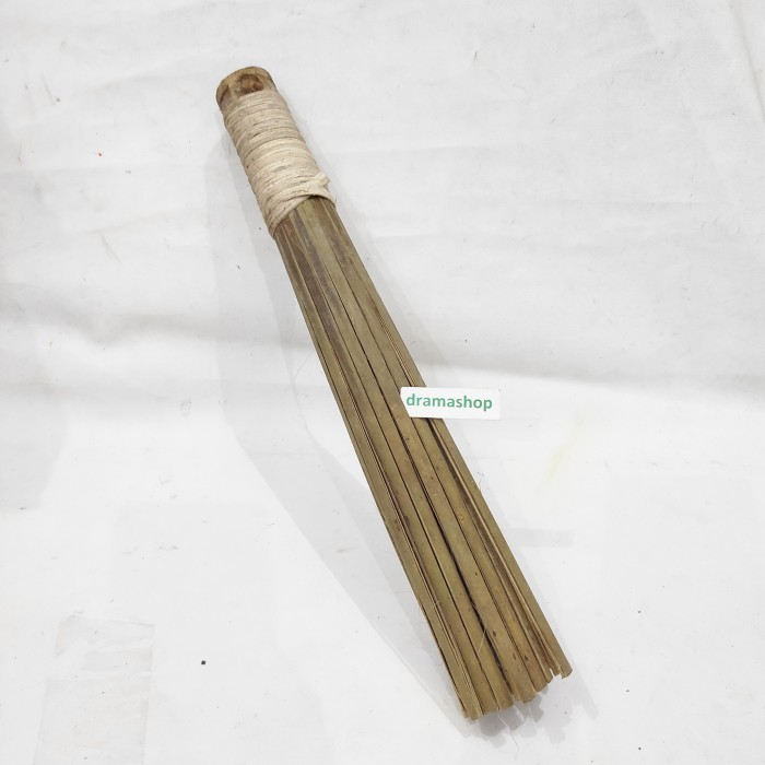 Foto Produk sapu gosok cuci kuali besar tukang nasi goreng dari bambu murah dari dramashop