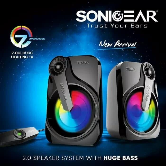 Foto Produk Speaker SonicGear Titan 2P (Passive) - Sonic Gear Titan 2 Passive dari PojokITcom Pusat IT Comp
