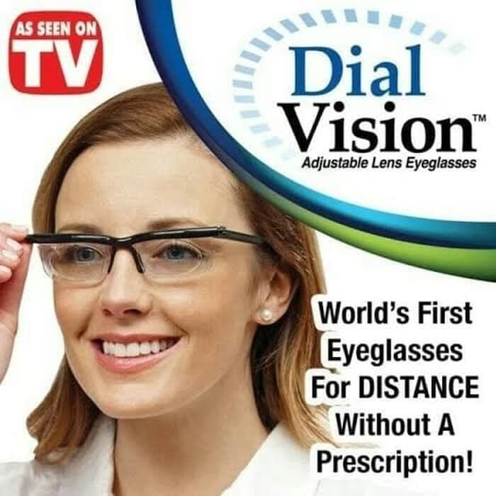 Foto Produk Kacamata Dial Vision / Instan Adjustable Lens Glasses / Kacamata Baca dari Vintaco