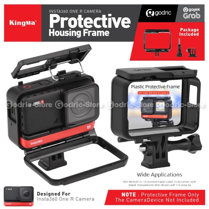 Foto Produk Kingma Plastic Frame Protective Cover Case Bumper for INSTA360 ONE R dari Godric Store