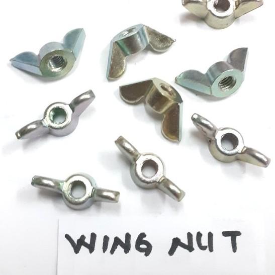 Foto Produk Wing Nut M 3/16 inchi Mur Kuping dari toko Bangunan Makmur