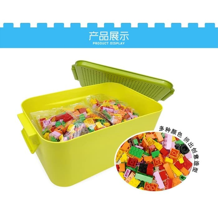 Foto Produk Mainan Anak Building Kit Panlos 601005 Brick Wange Designer Edukasi dari ANEKA MAINAN ONLINE