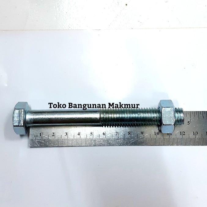 Foto Produk Baut Putih M14x120 Kunci Baut 22 dari toko Bangunan Makmur