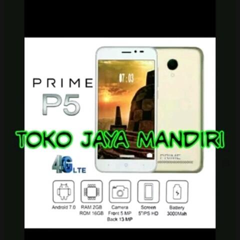 Jual Hp Android Smartphone Prime P5 4g Ram 2gb Rom 16gb Garansi Resmi Segel Kota Tangerang Selatan Tokojayamandiri84 Tokopedia