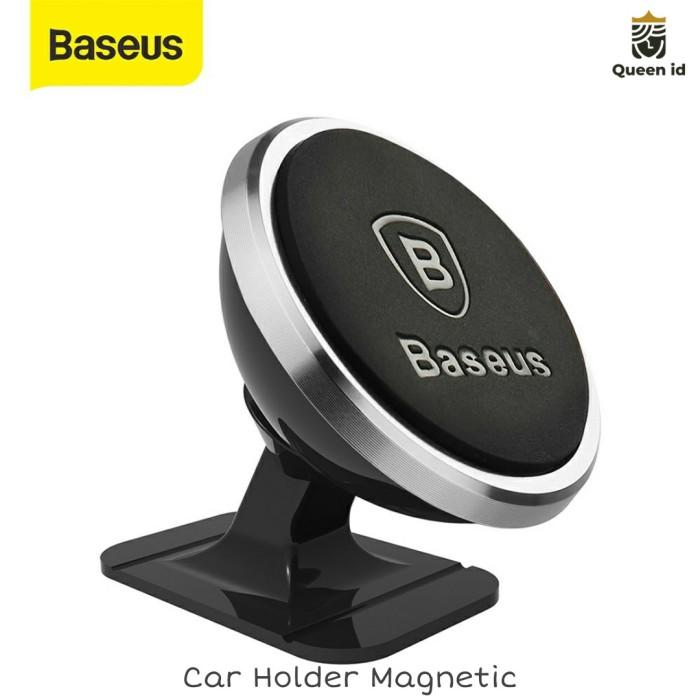 Foto Produk Car Holder Baseus Magnet 360 Phone stand Holder mobil Baseus Magnetic dari Queen-accessories
