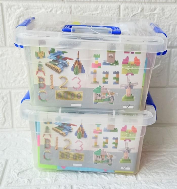 Foto Produk Mainan Edukasi Puzzle Block Container LB33 isi 50 PCS Bongkar pasang20 dari ANEKA MAINAN ONLINE