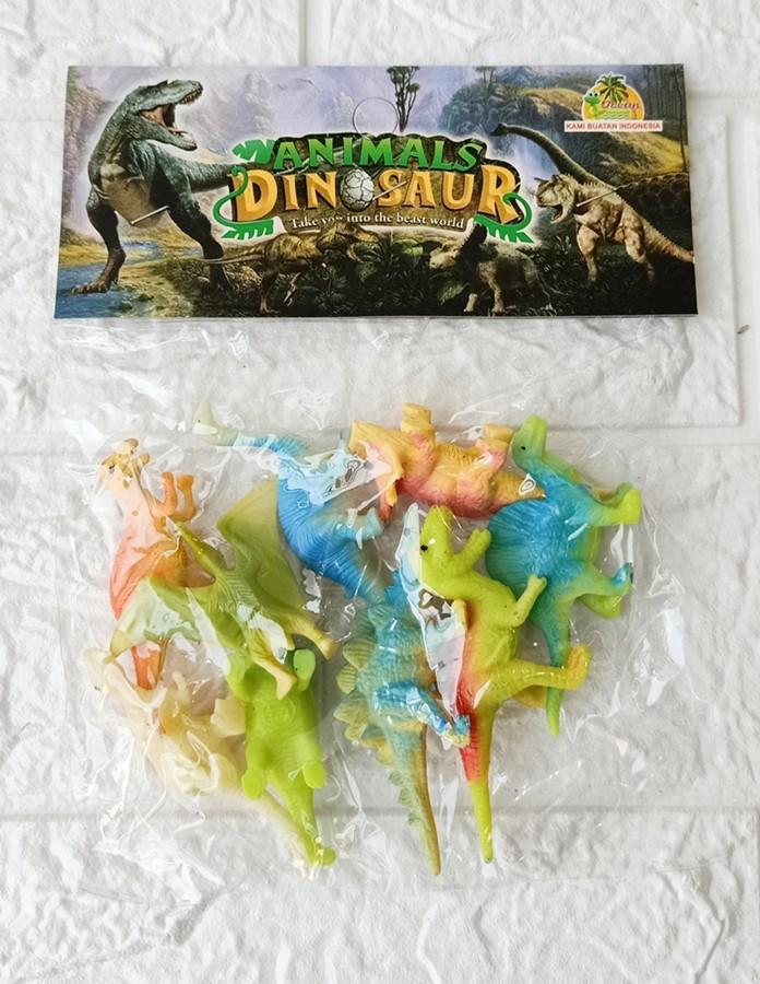 Foto Produk Figure Animal Dinosaur World isi 9 pcs OCT 1203 dari ANEKA MAINAN ONLINE