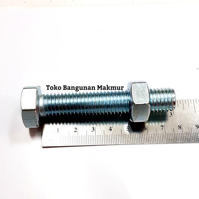 Foto Produk Baut Putih M14x70 Kunci Baut 22 dari toko Bangunan Makmur