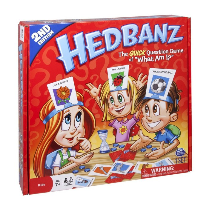 Foto Produk Hedbanz Card Mainan Family Game 6188-4 Edukasi dari ANEKA MAINAN ONLINE