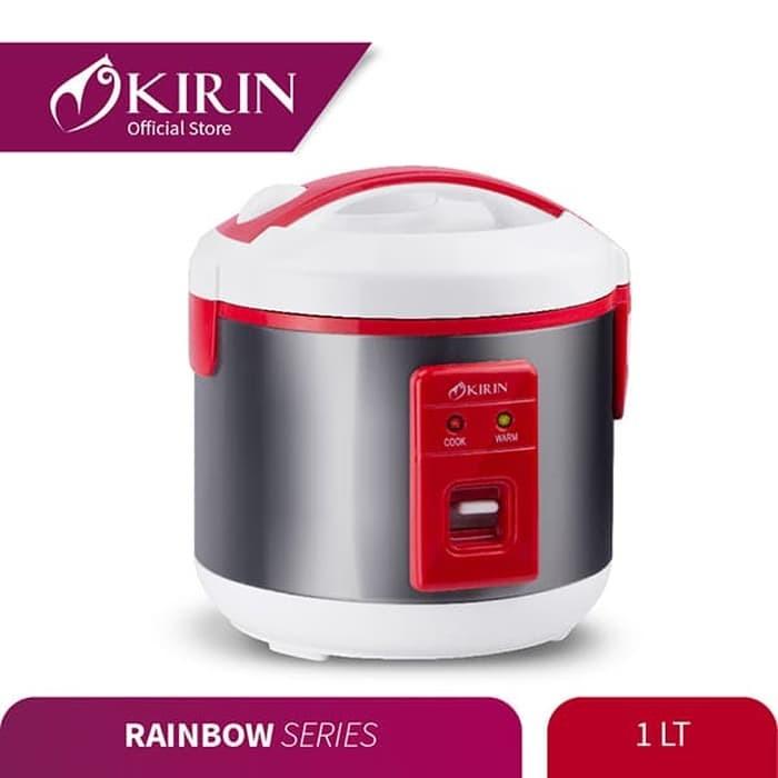 Foto Produk KIRIN Rice Cooker 1 Liter KRC-087 - Merah dari UTAMA_ELECTRONIC