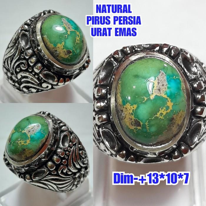 Foto Produk NATURAL BATU PIRUS PERSIA URAT EMAS C72 dari arjuna cincin