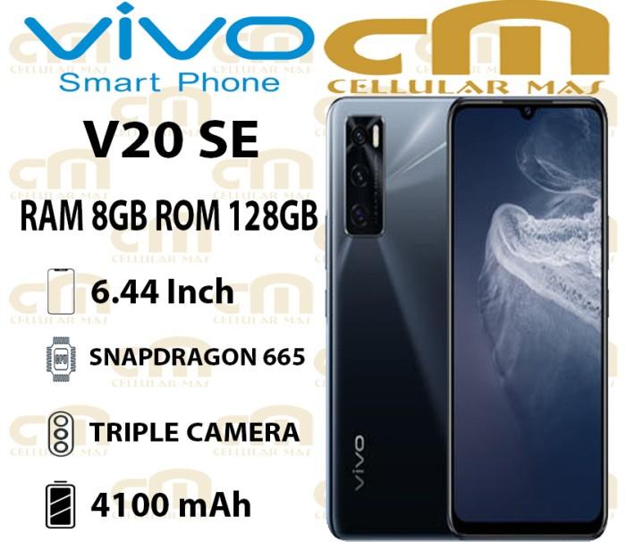 Foto Produk Vivo V20 SE / V20SE 8/128 RAM 8GB ROM 128GB GARANSI RESMI VIVO - Biru dari Cellular Mas
