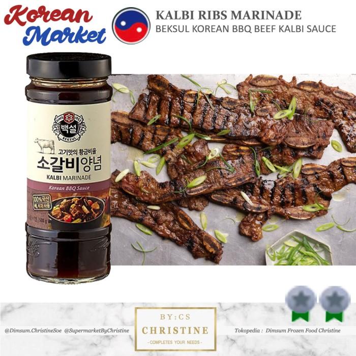 Jual Kalbi Marinade Sauce Beksul Beef Kalbi Bbq Marinade Sauce 500 Ml Jakarta Utara Dimsum Frozen Food Christine Tokopedia