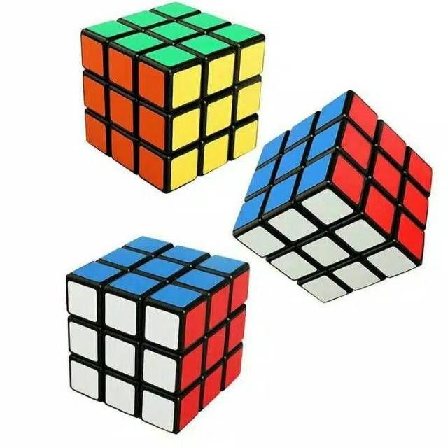 Foto Produk Mainan Asah Otak Rubik Kubik 3x3 Kantong NO.588-5 Mainan edukasi dari ANEKA MAINAN ONLINE