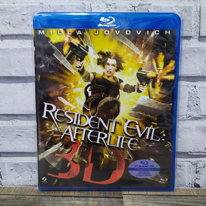 Jual Bluray Resident Evil Afterlife 2010 Jakarta Pusat Bluraydvd Tokopedia