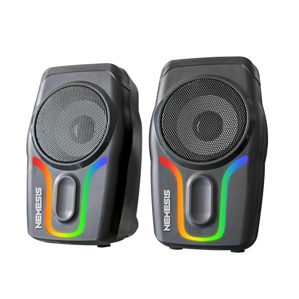 Foto Produk Speaker NYK N07 N 07 Nemesis Sound Bar Viper Gaming RGB Speaker dari PojokITcom Pusat IT Comp