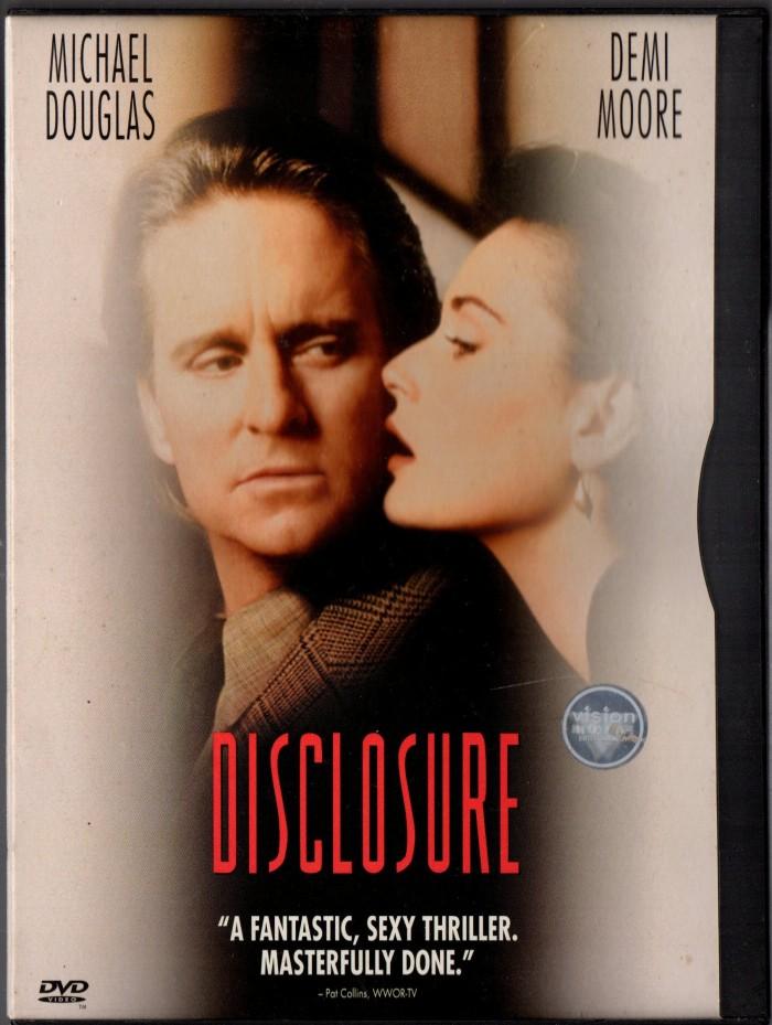 Jual Dvd Original Disclosure 1994 Teks Inggris Kota Samarinda Abu Agung Tokopedia