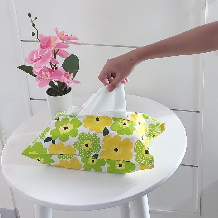 Foto Produk Sarung tissue / tempat tissue dari pondok aren shop