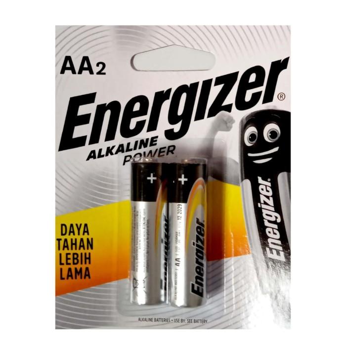 Foto Produk Baterai Energizer Alkaline Power AA ( 1 Set isi 2 Pcs ) dari officemart