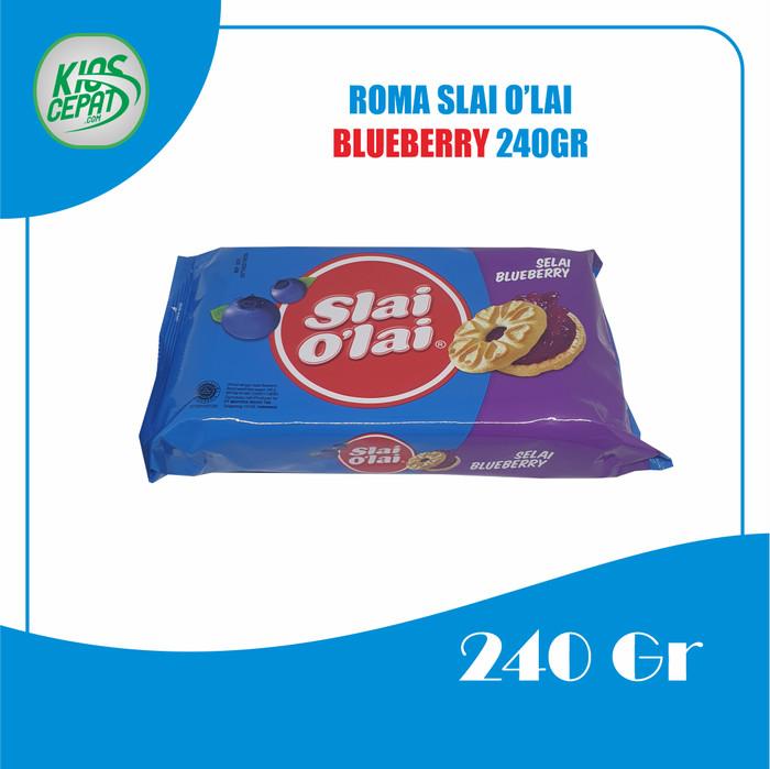 Foto Produk Biskuit Roma Slai Olai Blueberry 240gr / Biskuit Selai Blueberry dari KiosCepat