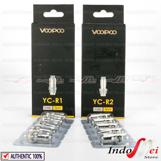 Foto Produk Coil Finic YC For Finic 16 - Finic 20 AIO Kit By Voopoo - TidakPilih OHM dari Indomei Store