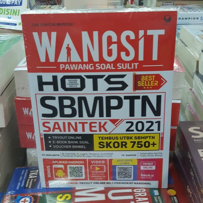 Foto Produk Buku Wangsit Pawang Soal Sulit Hots Utbk Sbmptn Saintek 2021 dari Showroom Books