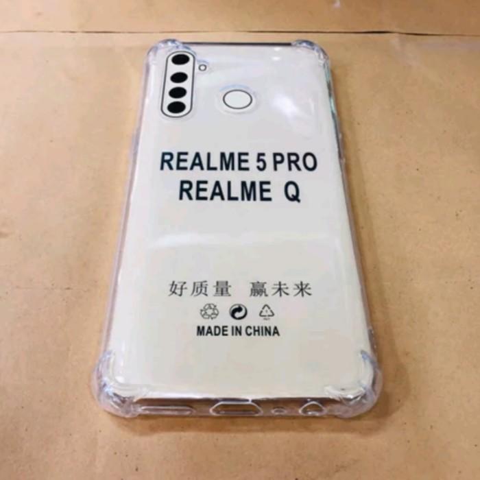 Foto Produk softcase jeli anticrack realme 5 pro softcase jeli realme 5 pro dari vivan cell